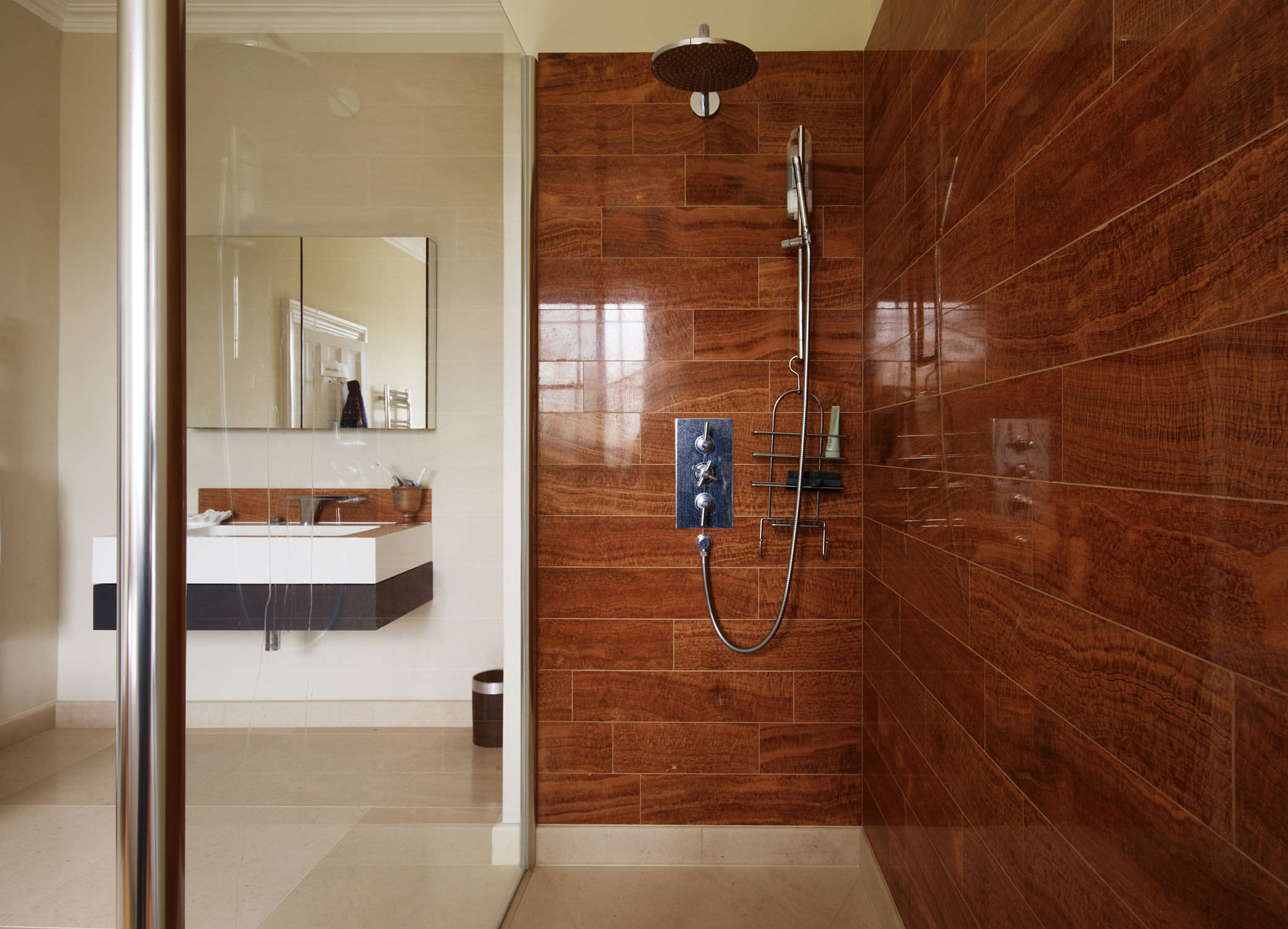 24 cool ideas and pictures of bathroom wood floot tiles 16 dailygadgetfo Choice Image
