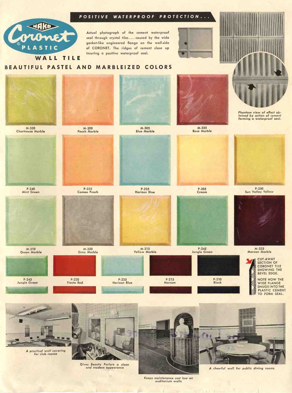 1950s-plastic-wall-tile-coronet-18-colors