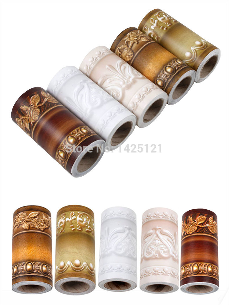 2014-New-self-adhesive-waterproof-waistline-3d-wallpaper-paste-vertex-foot-line-waist-baseboard-tile-bathroom