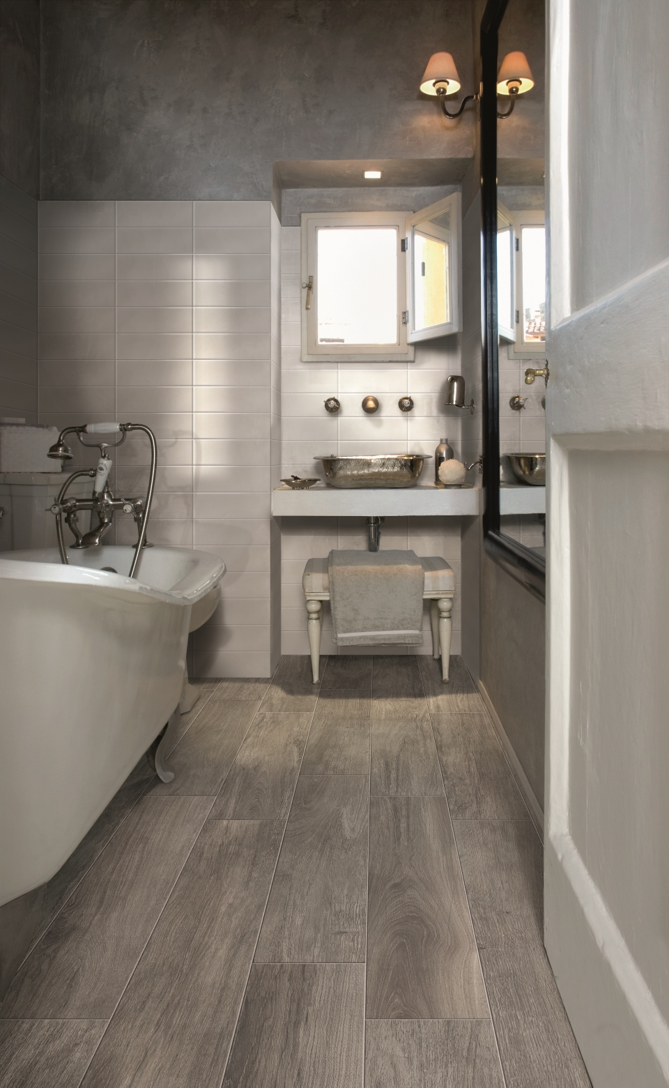 25 pictures and ideas of wood effect bathroom floor tile 1 2 3 dailygadgetfo Choice Image
