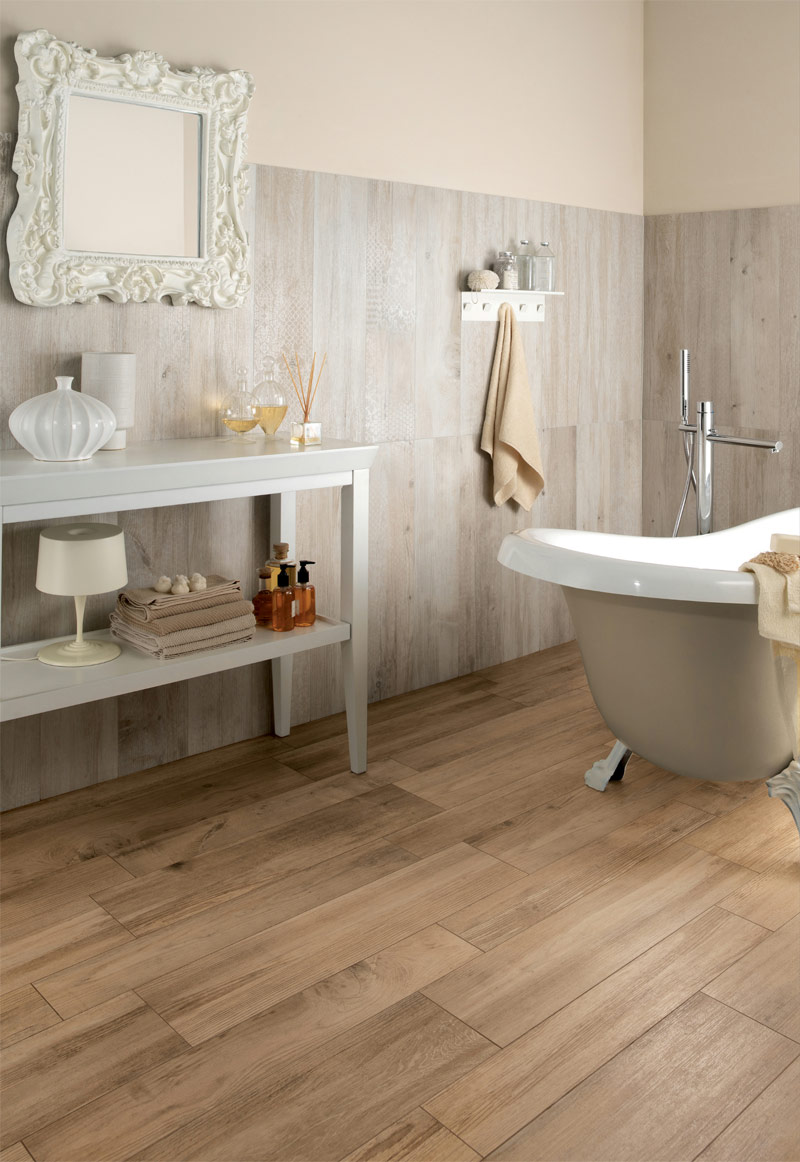 28 great ideas and pictures of faux wood tile in bathroom 1 2 3 4 5 dailygadgetfo Image collections