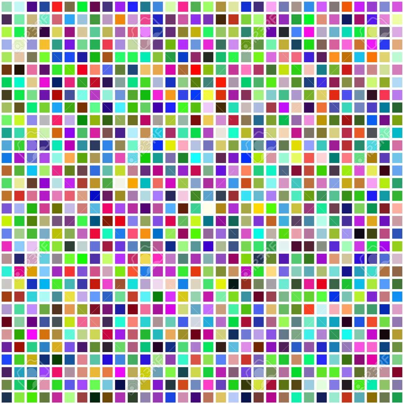 4478496-Colorful-multi-color-seamless-square-tiles-for-bathroom-kitchen-or-background-use-Stock-Vector