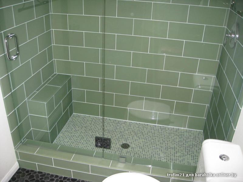 with options adhesive shower flooring pebble floor new cracked for throughout ceramic floors ideas on tile repair best