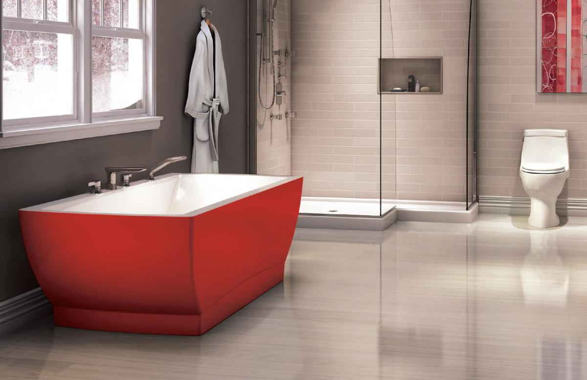 amazing ideas and pictures of the best vinyl tile for bathroom