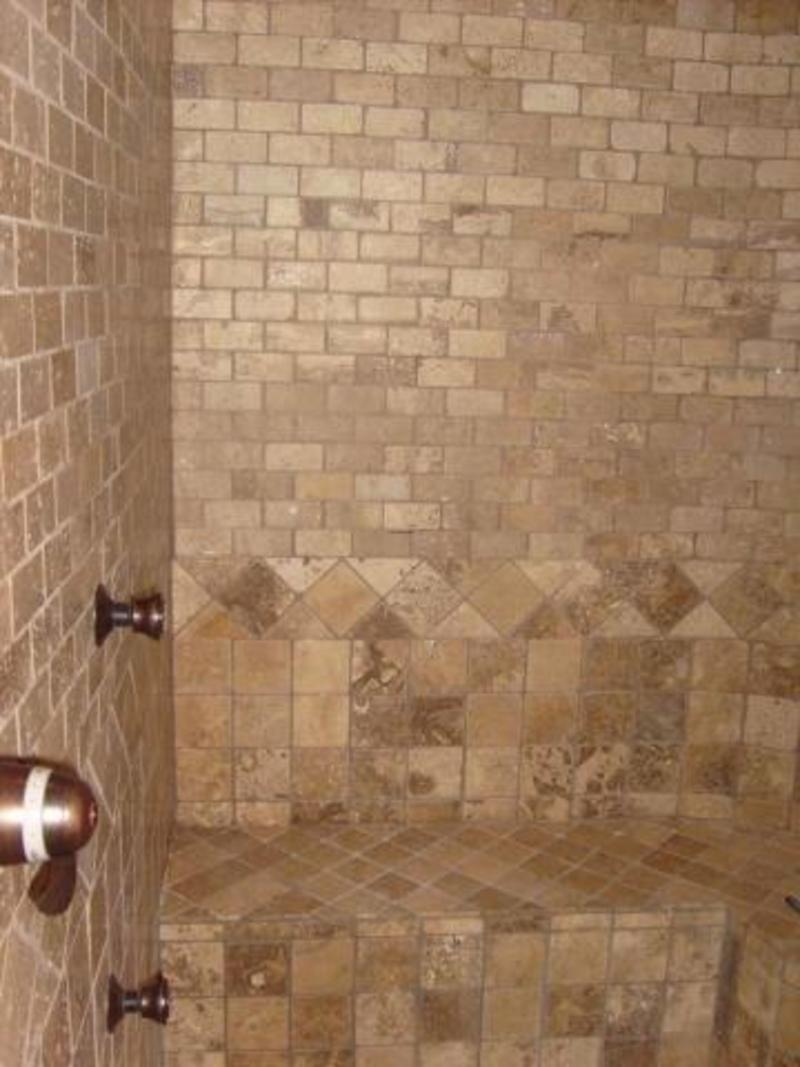 Modern Tile Patterns For Bathrooms on Master Bathroom Floor Plans