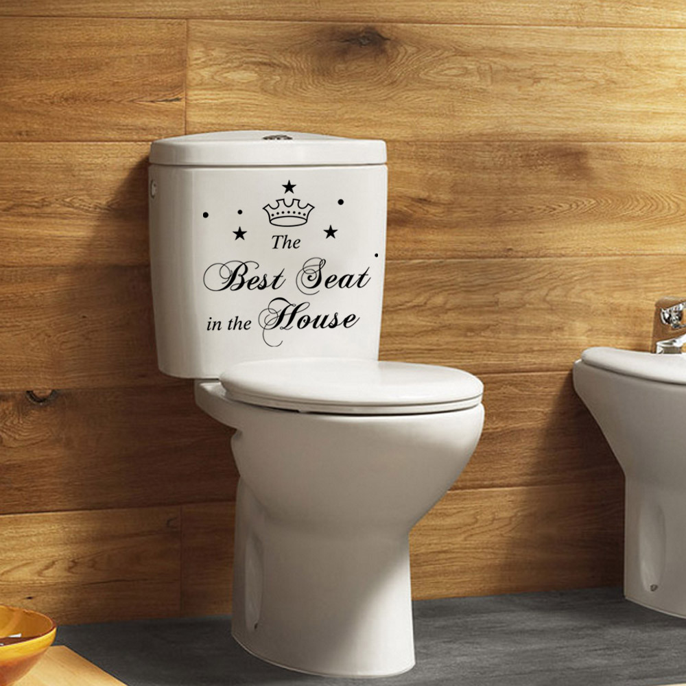 -Best-seat-PVC-Toilet-stickers-Bathroom-stickers-removable-vinly-wallpaper-wall-decals-vinyl-stickers-home
