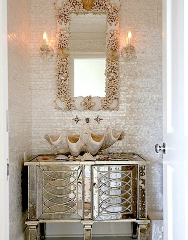 mosaic tile bathroom mirror 30 ideas of mosaic tile framed bathroom mirrors 19665