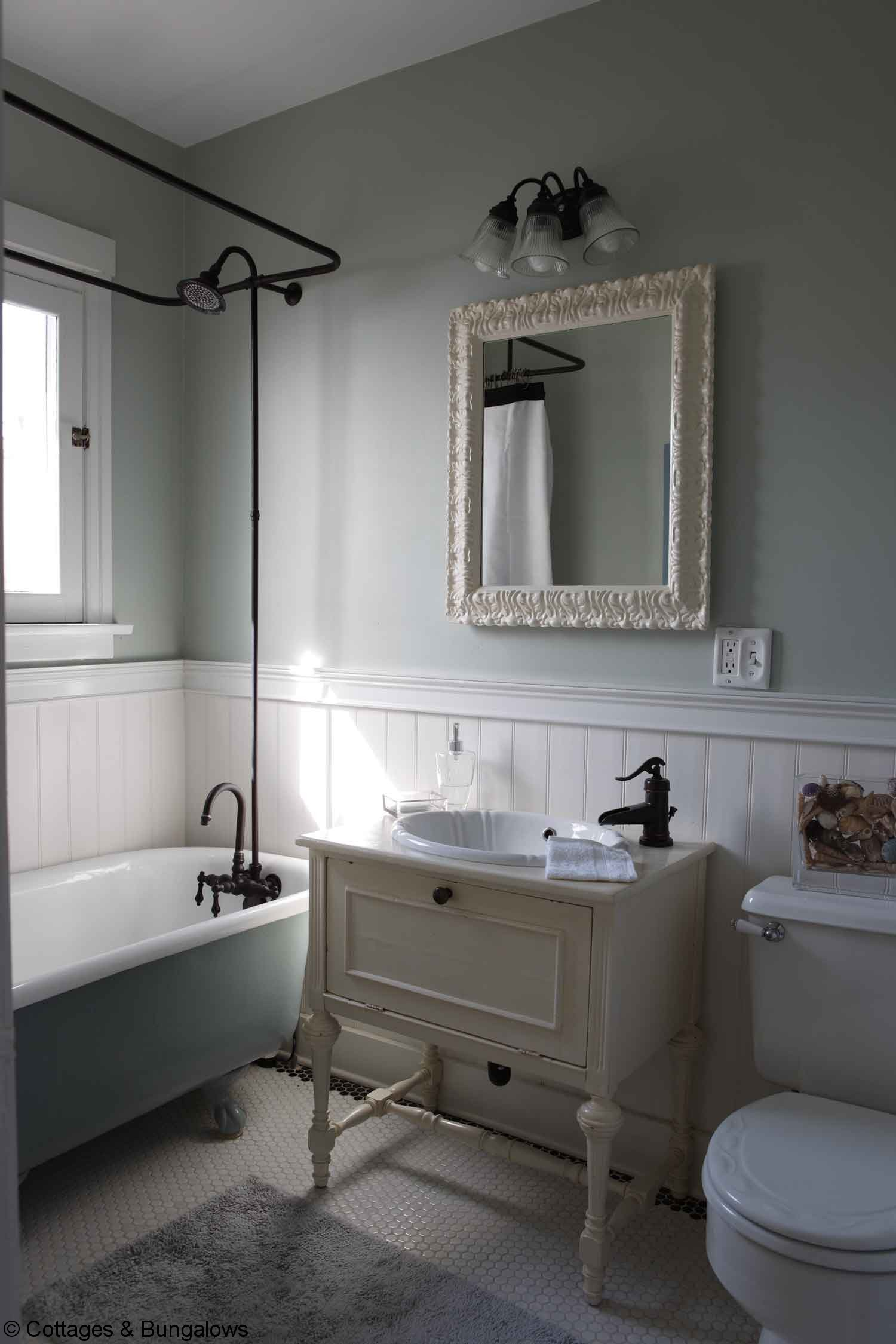 35 Great Pictures And Ideas Of Vintage Ceramic Bathroom