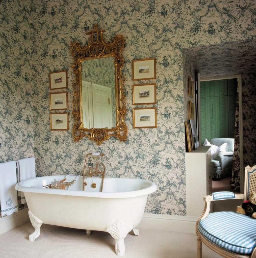 Victorian Style Bathroom Floor