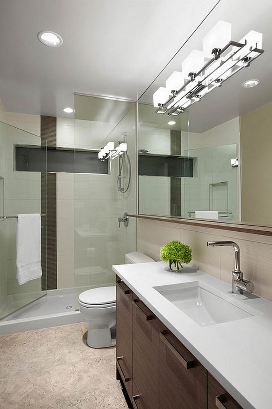 32 good ideas and pictures of modern bathroom tiles texture - Images of bathroom vanity lighting ...