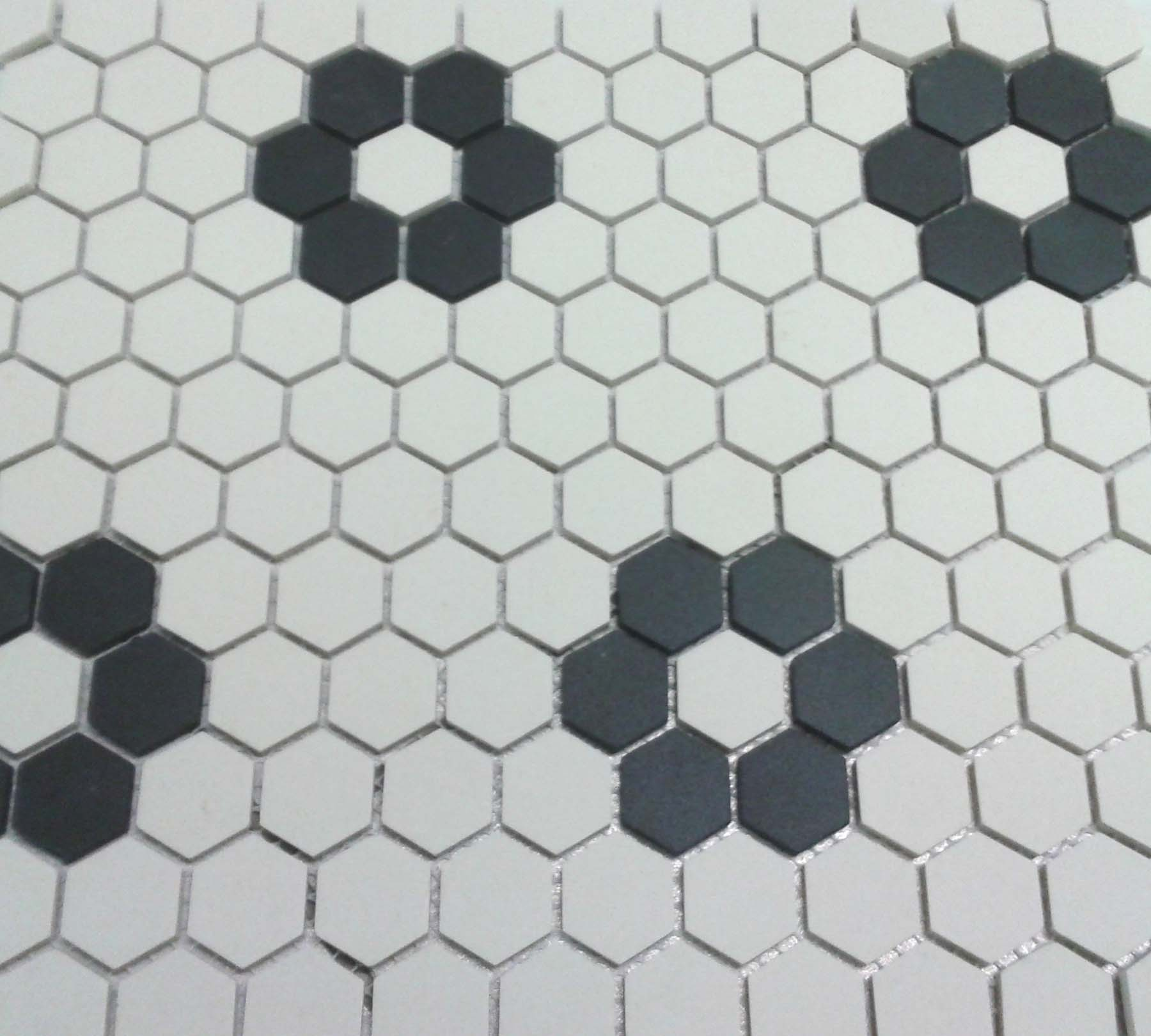 Wonderful Pictures And Ideas Of S Bathroom Tile Designs - 1920's floor tile patterns
