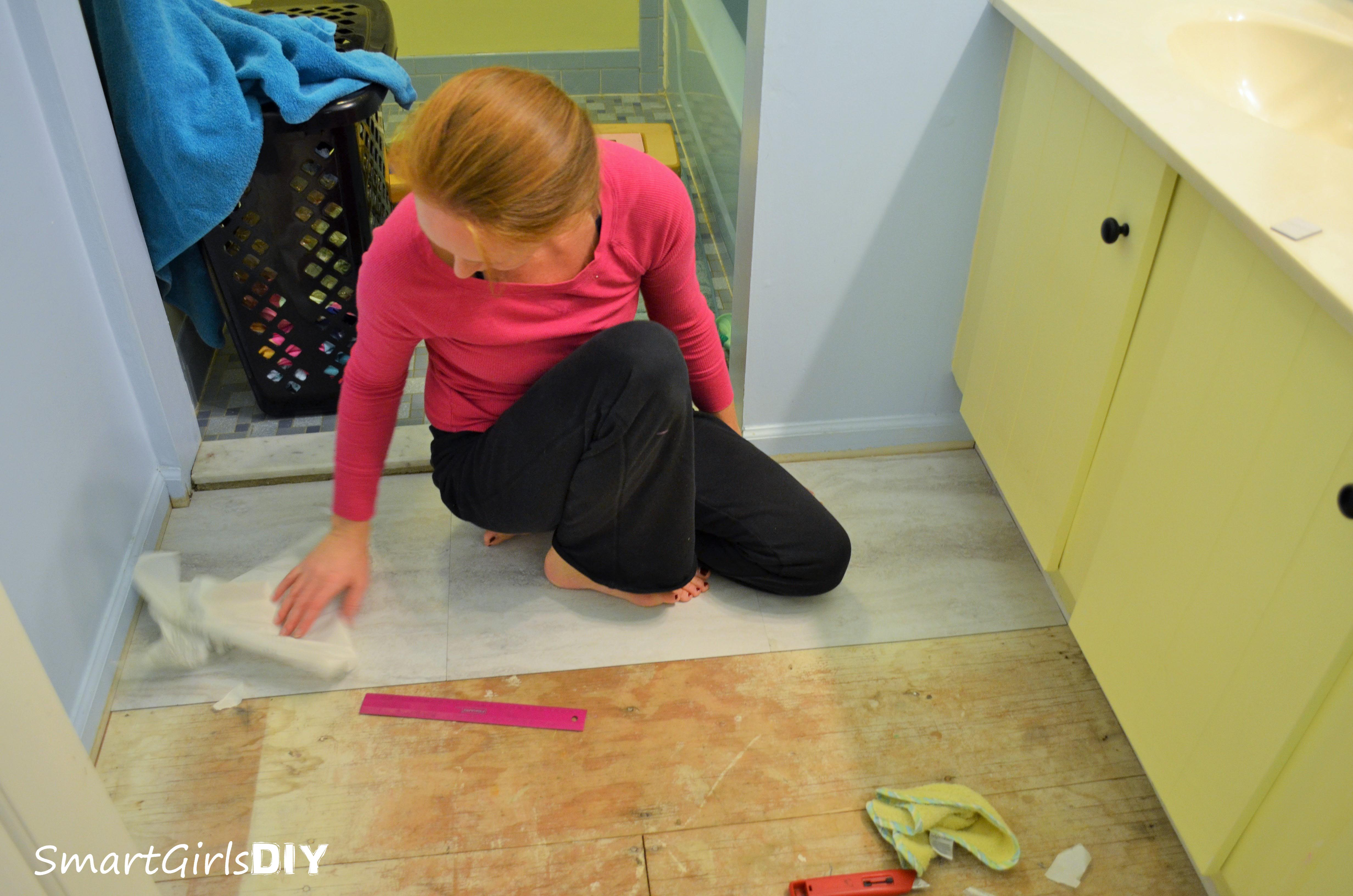 Installing-Peel-and-Stick-Tile-in-the-Bathroom
