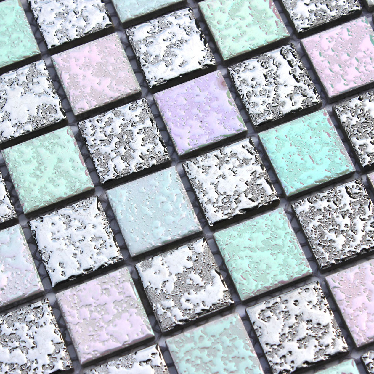 Iridescent Ceramic Tile Choice Image Flooring Design Ideas