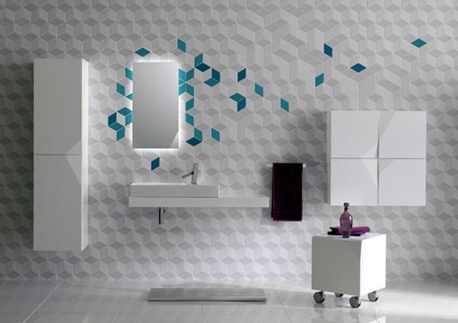 Modern-Futuristic-Bathroom-With-Unique-Wall-915x646