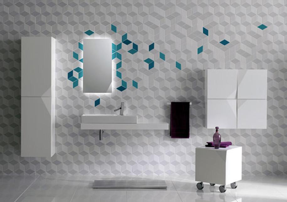 Modern-Futuristic-Bathroom-With-Unique-Wall-915x646