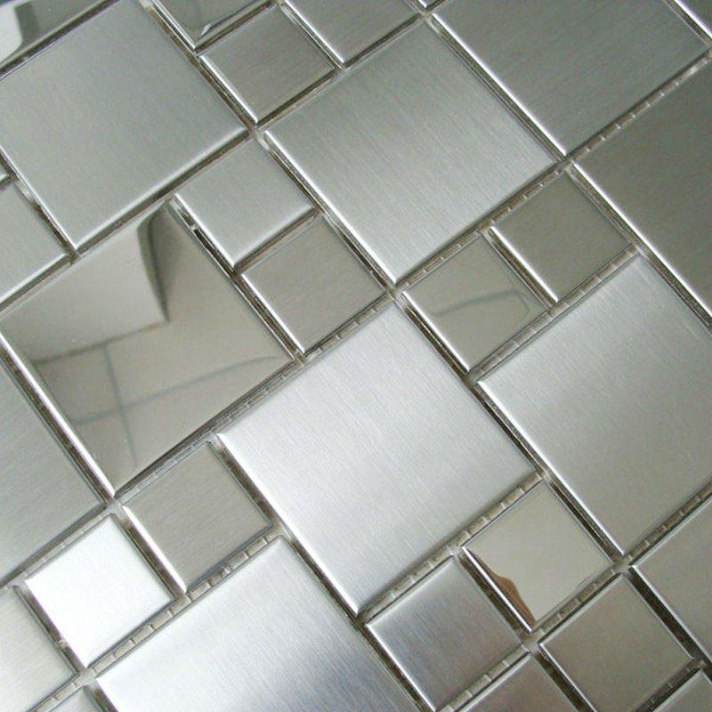 Mosaic-tile-mirror-font-b-sheets-b-font-square-brushed-304-font-b-stainless-b-font