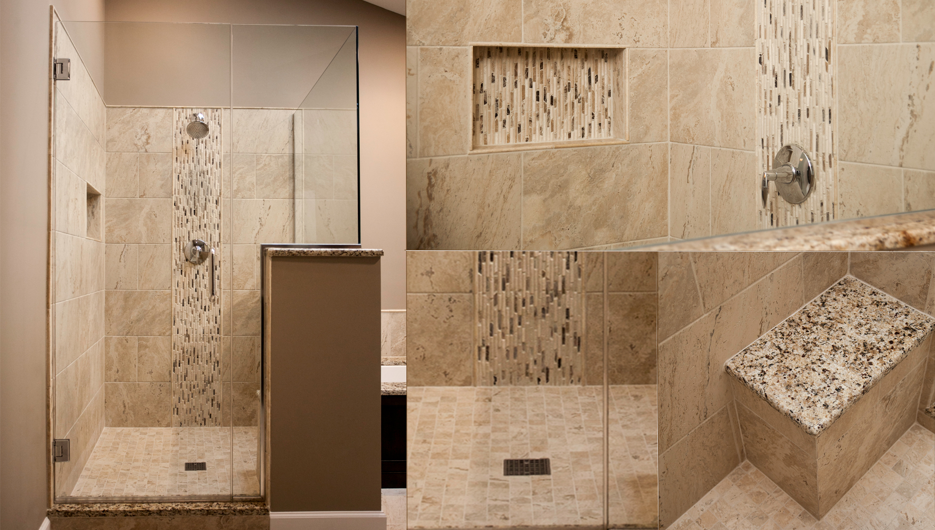 Natural Stone Shower Wall Panels