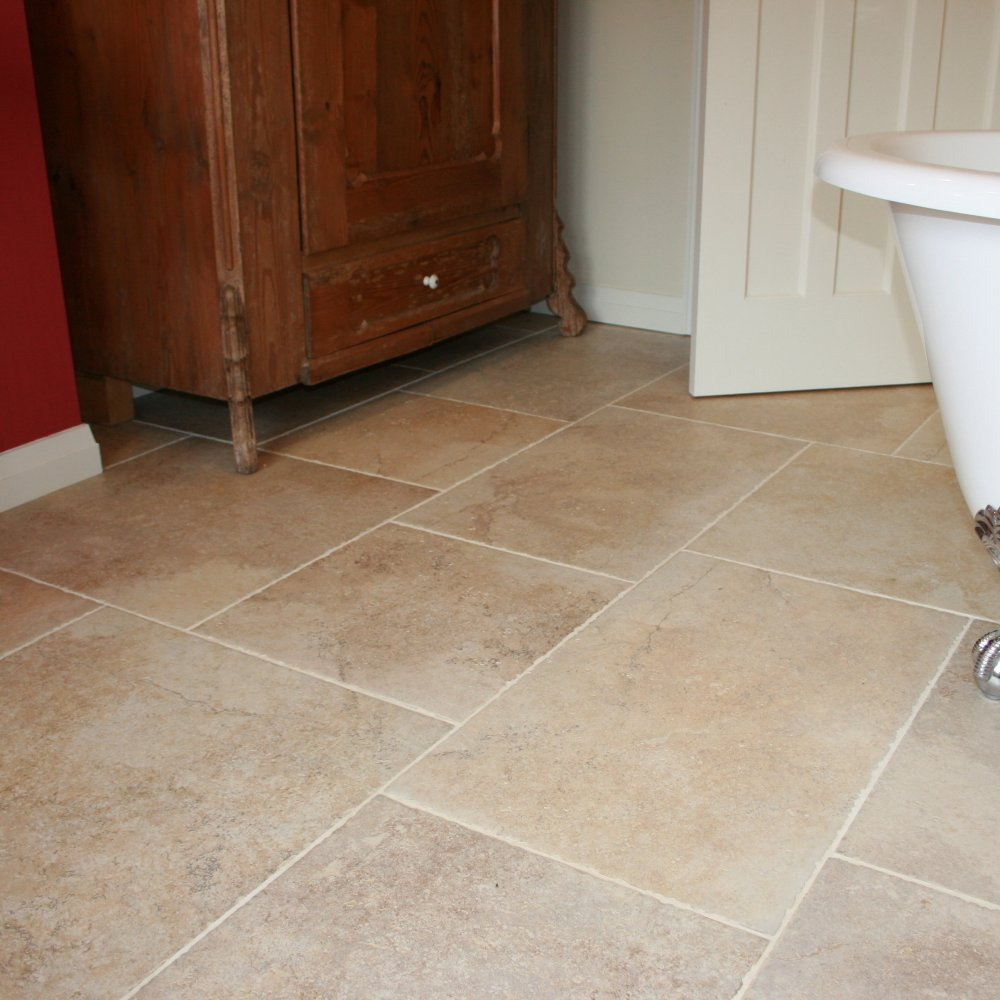 Porcelain Tile Flooring For Kitchen