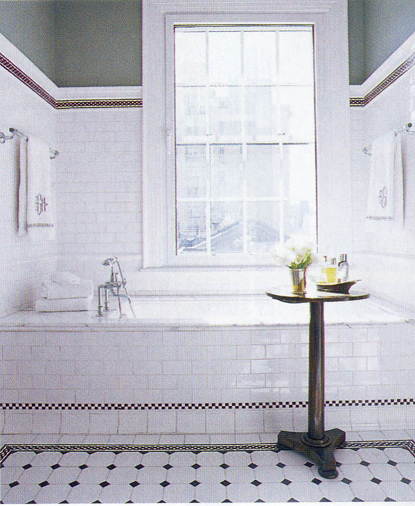 26 interesting ideas and pictures of vintage style bathroom floor tile