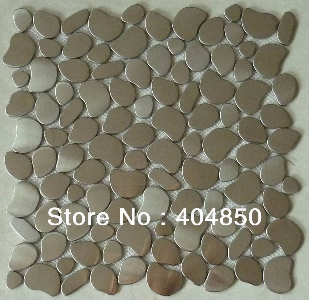 River-Rock-Pattern-Mosaic-Stainless-Steel-Tile