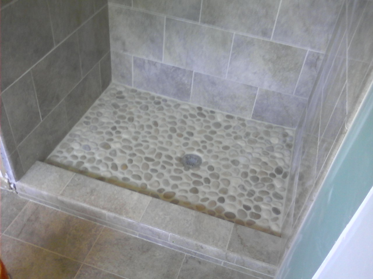 river rock tile bathroom floor 31 great ideas and pictures of river rock tiles for the 24066