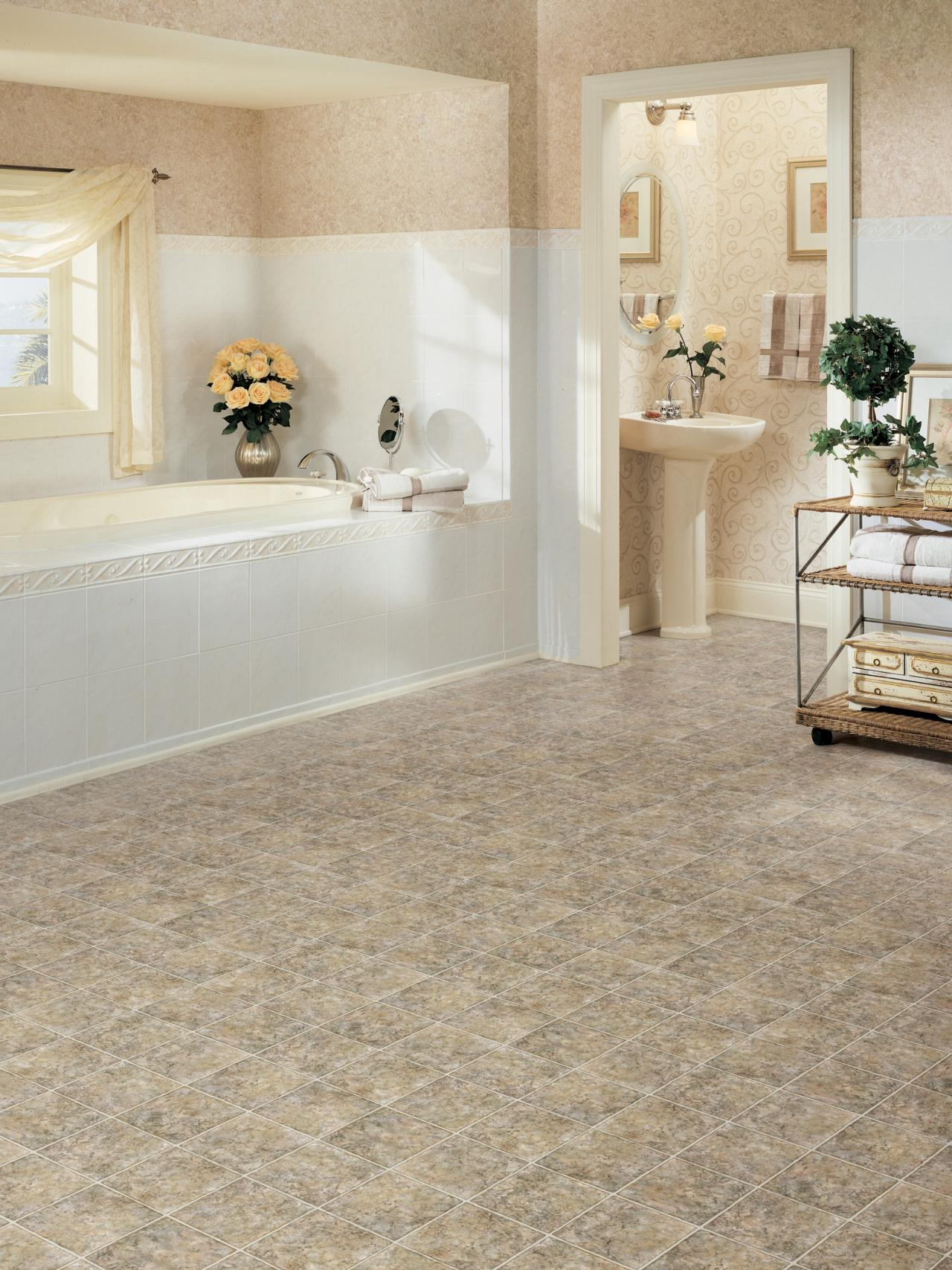 31 stunning pictures and ideas of vinyl flooring bathroom ...