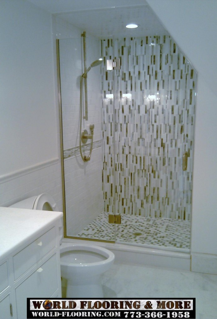 Shower Floor Tiles Which Why And How: 30 Pictures Of Using Mosaic Tile For Shower Floor