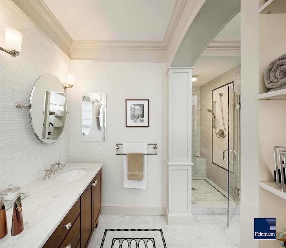 Spectacular-Carrara-Marble-Tile-decorating-ideas-for-Bathroom-Traditional-design-ideas-with-Spectacular-bathroom-cabinets-bathroom
