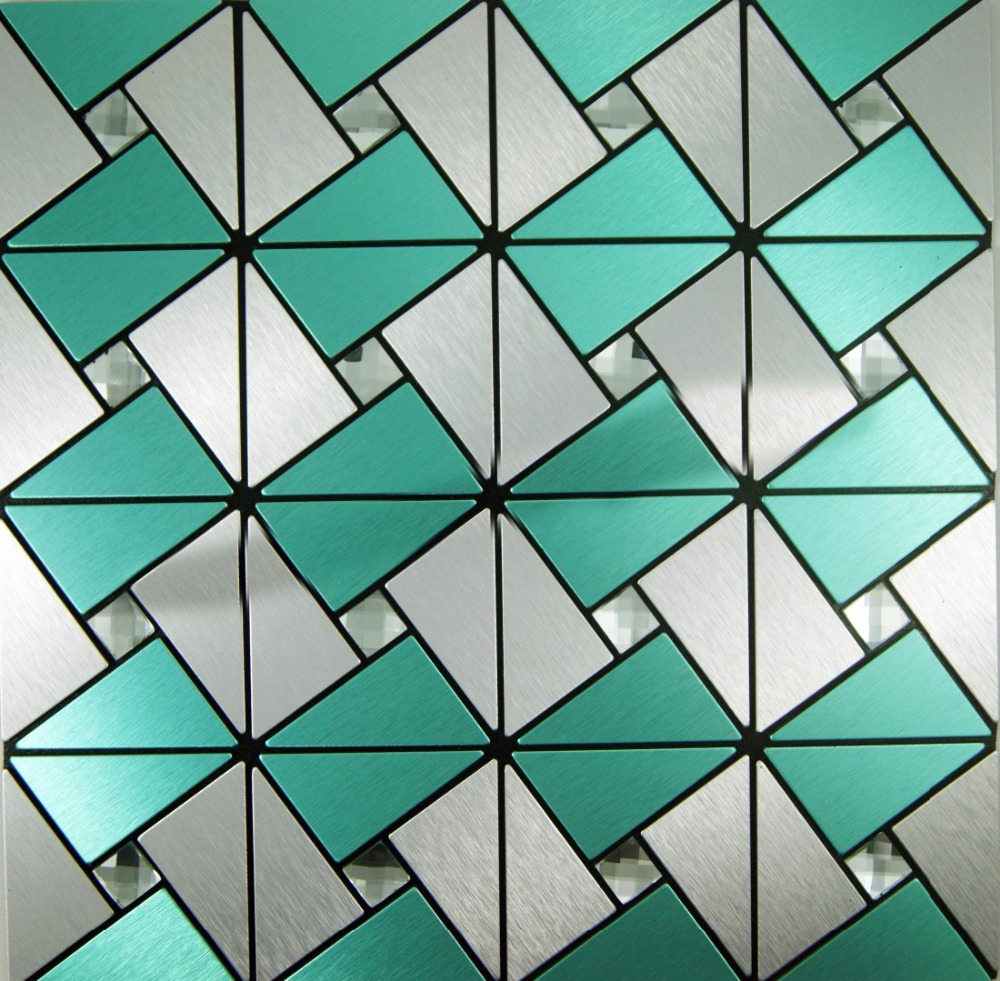 Wholesale-11-sheets-self-adhesive-backsplash-tiles-green-silver-kitchen-deco-mesh-bathroom-fireplace-vinyl-tiles