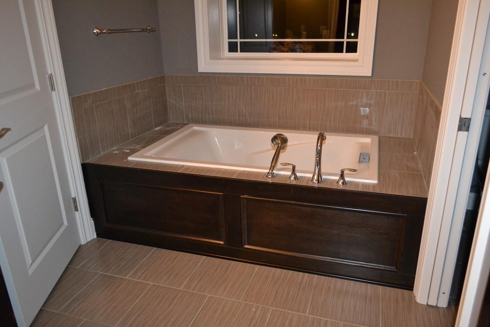 bathroom-interior-extraordinary-bathroom-decoration-ideas-using-light-brown-porcelain-tile-bath-surround-along-with-rectangular-white-bathtub-and-light-grey-bathroom-wall-paint-fancy-bathroom-interio