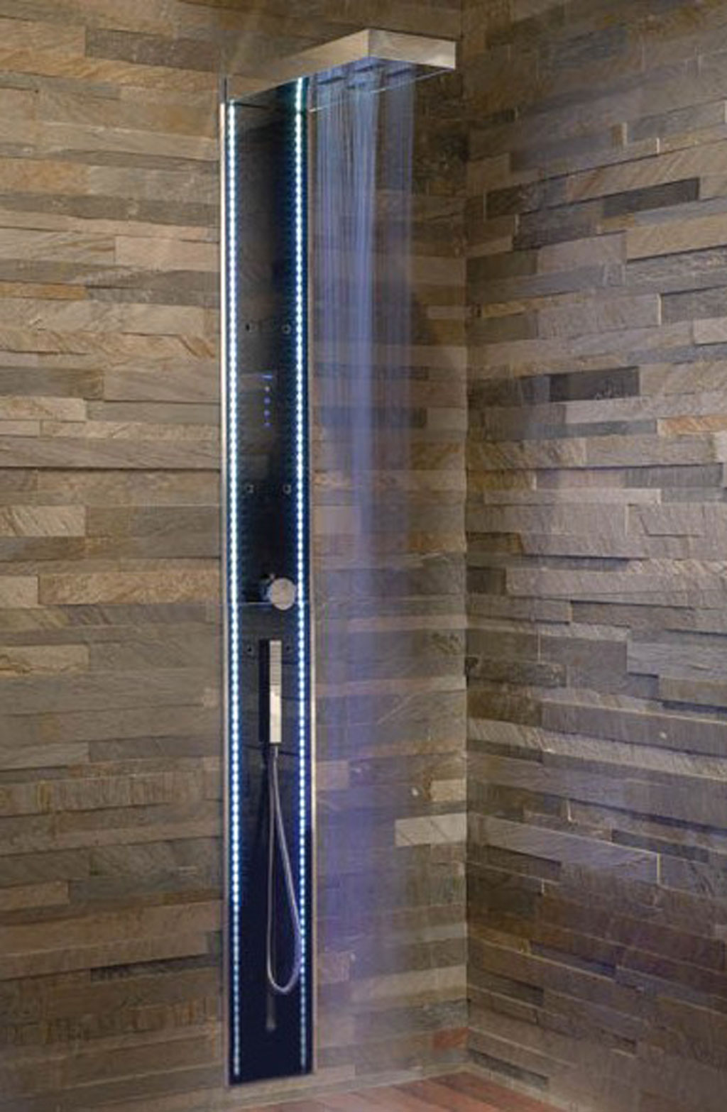32 good ideas and pictures of modern bathroom tiles texture for Tile shower bathroom ideas