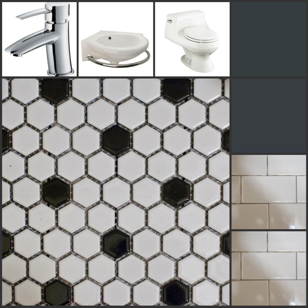 Ideas Of Vintage Bathroom Floor Tile