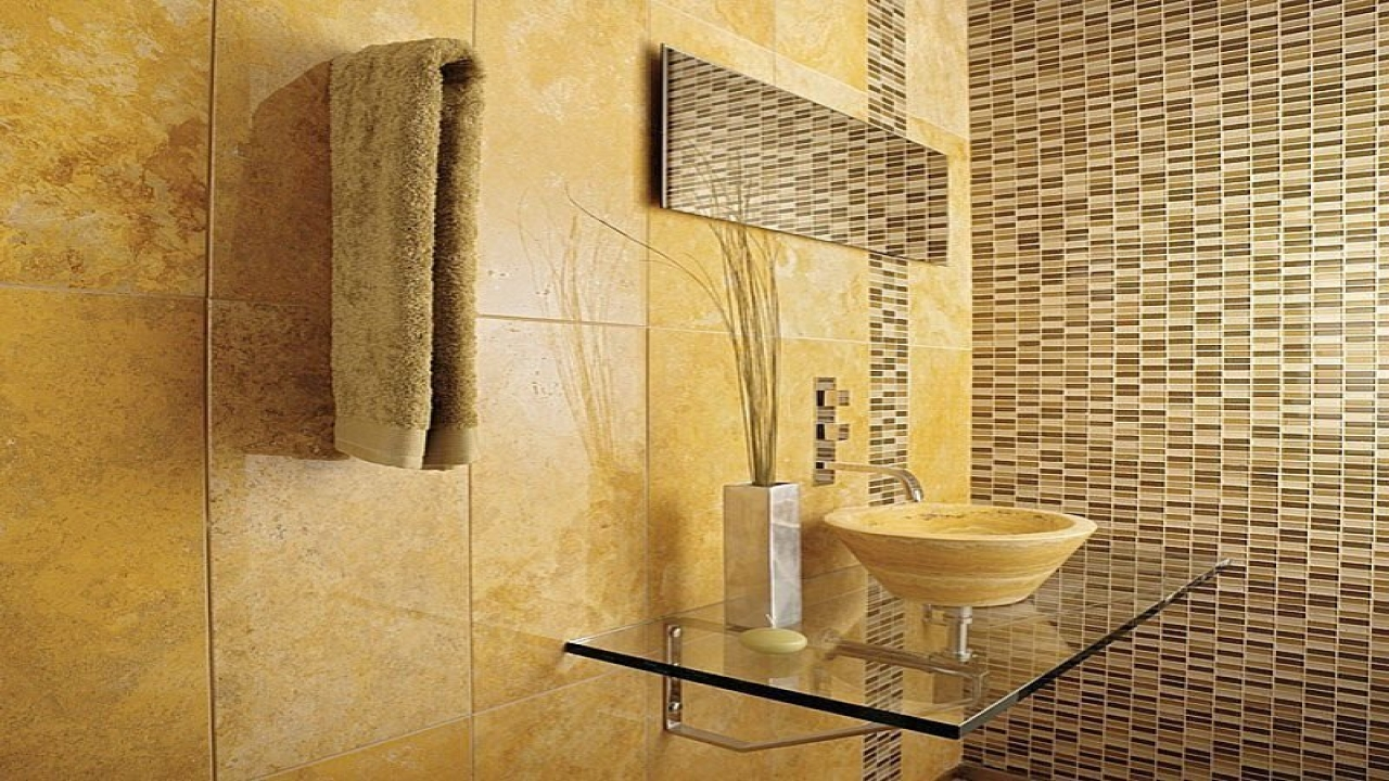 ... Beautiful Natural Stone Bathroom Wall Tile Mosaic Bathroom ...
