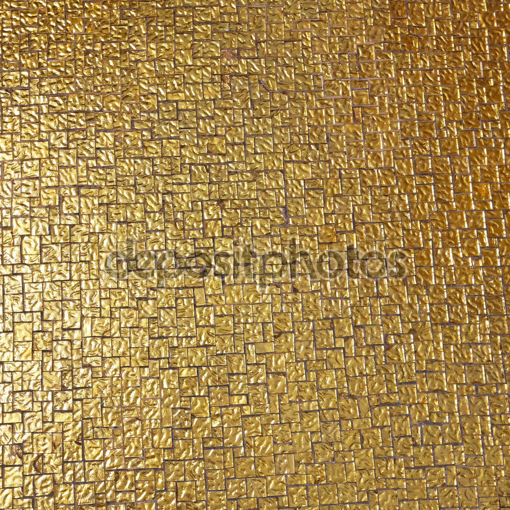 30 Pictures Of Gold Mosaic Bathroom Tiles