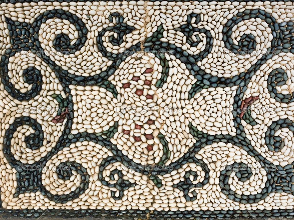 Pebbles Mosaic Symbol Pattern