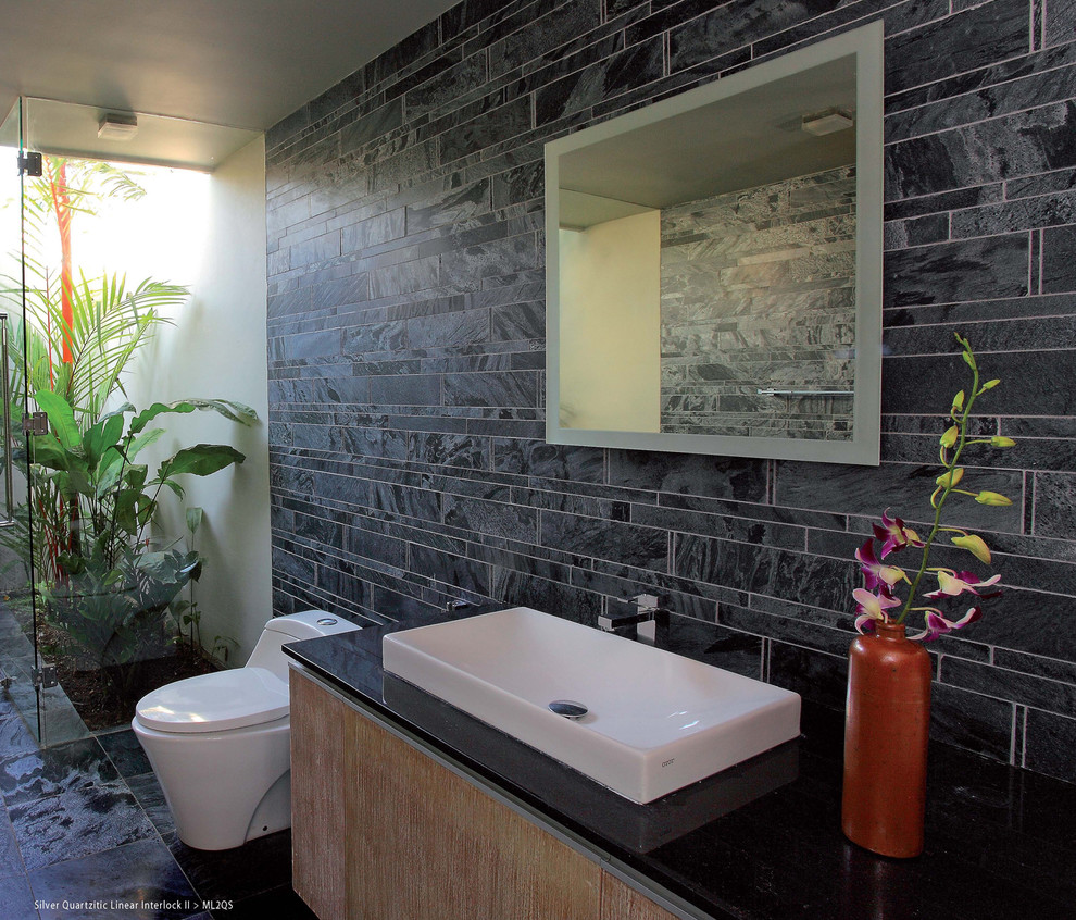 31 Cool Ideas And Pictures Of Natural Stone Bathroom