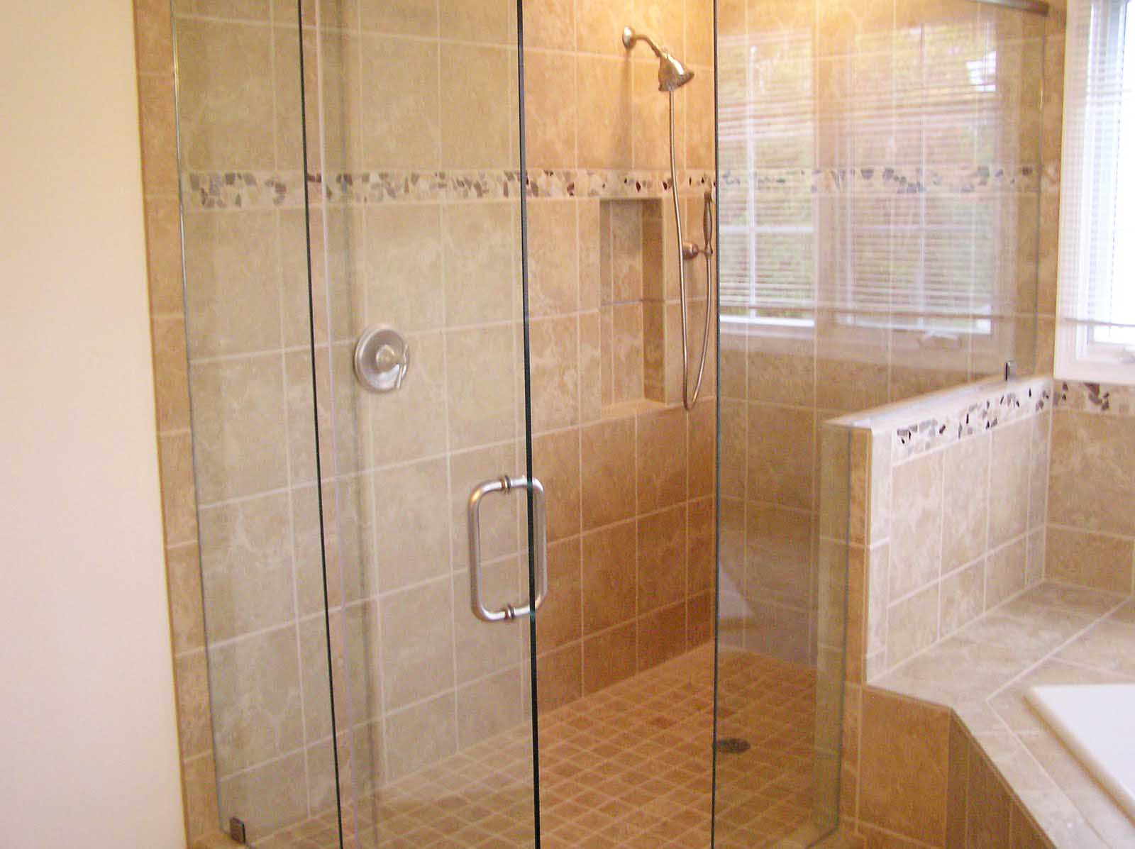 33 amazing pictures and ideas of old fashioned bathroom for Tile shower bathroom ideas