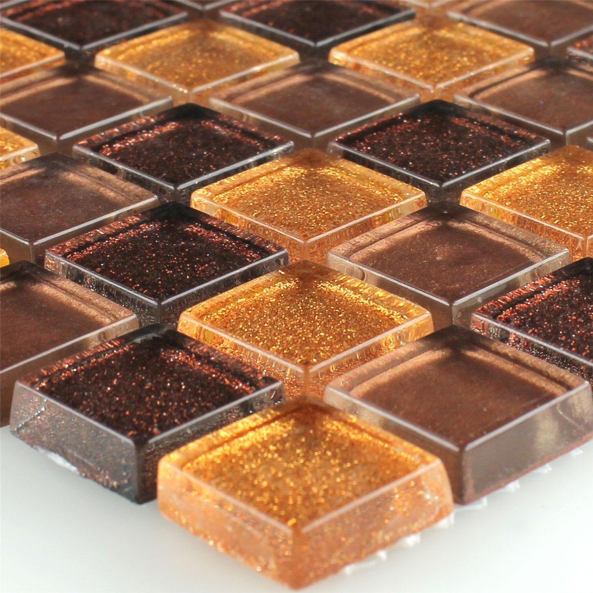 glas-mosaikfliesen-braun-gold-glitzer