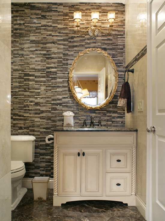 30 Ideas Of Mosaic Tile Accents In A Bathroom