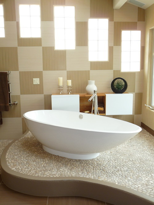 large_Contemporary-Bathroom-Tan-Pebble-Tile-Flooring