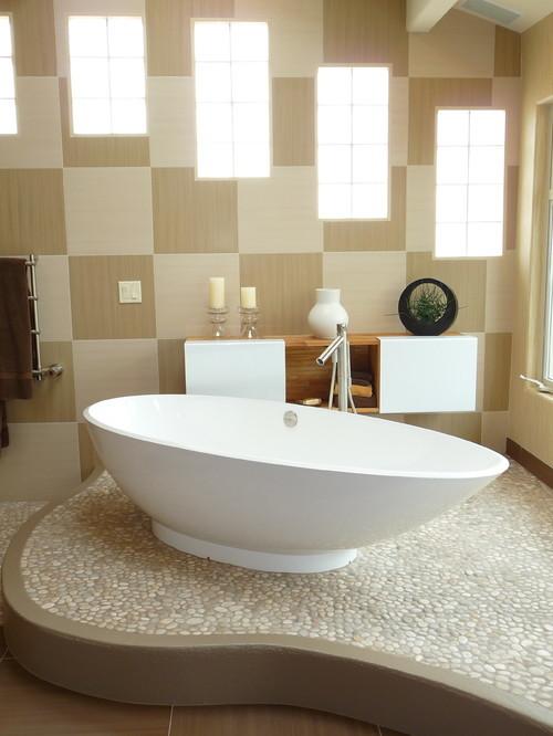 large_Contemporary-Bathroom-Tan-Pebble-Tile-Flooring