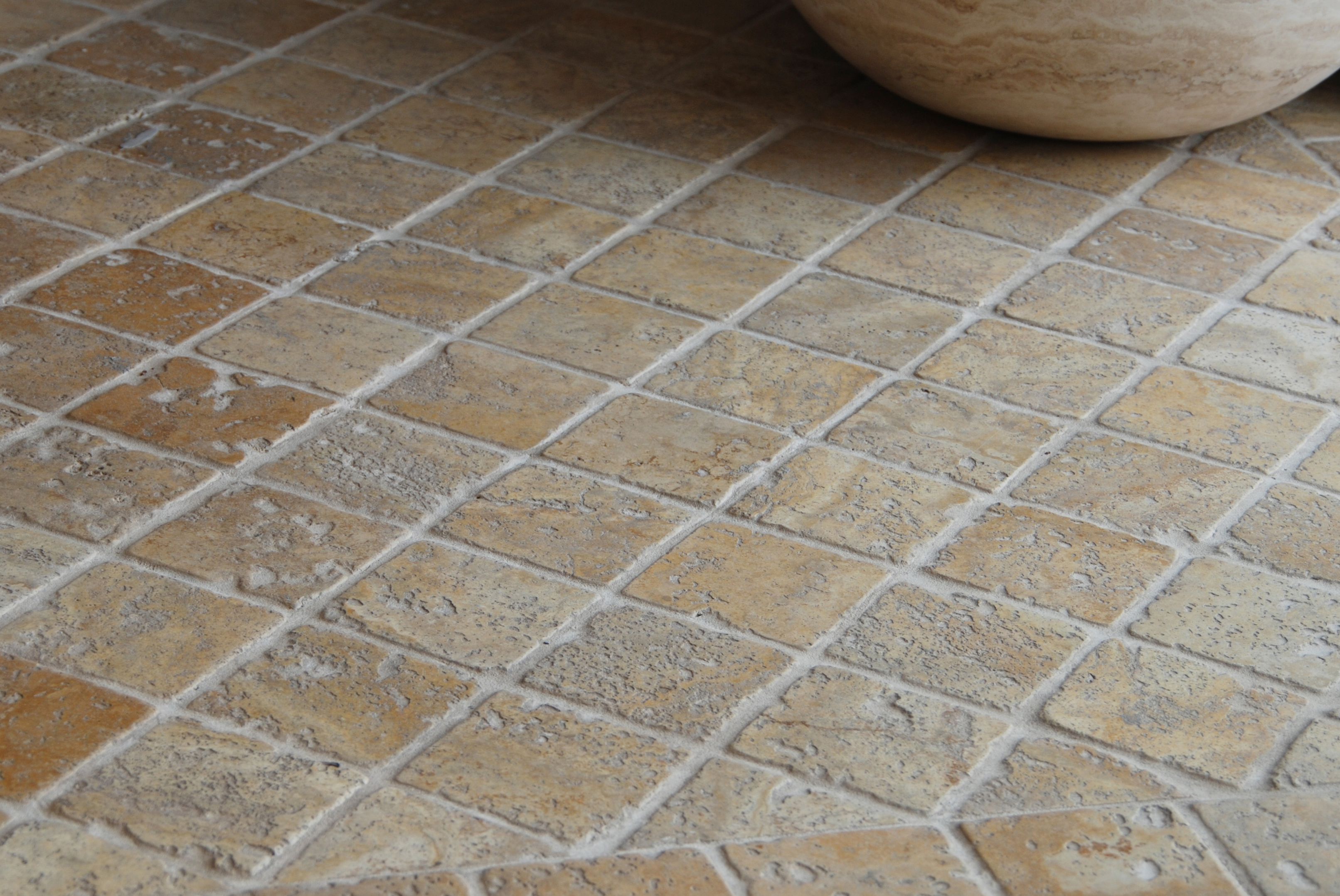 33 stunning pictures and ideas of natural stone bathroom floor tiles