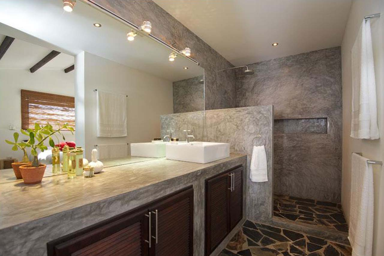 Natural Stone Bathroom Design Ideas ~ Cool ideas and pictures of natural stone bathroom