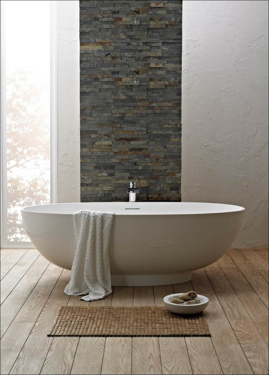 30 cool ideas and pictures of natural stone bathroom mosaic tiles – Stone Bathroom Tiles