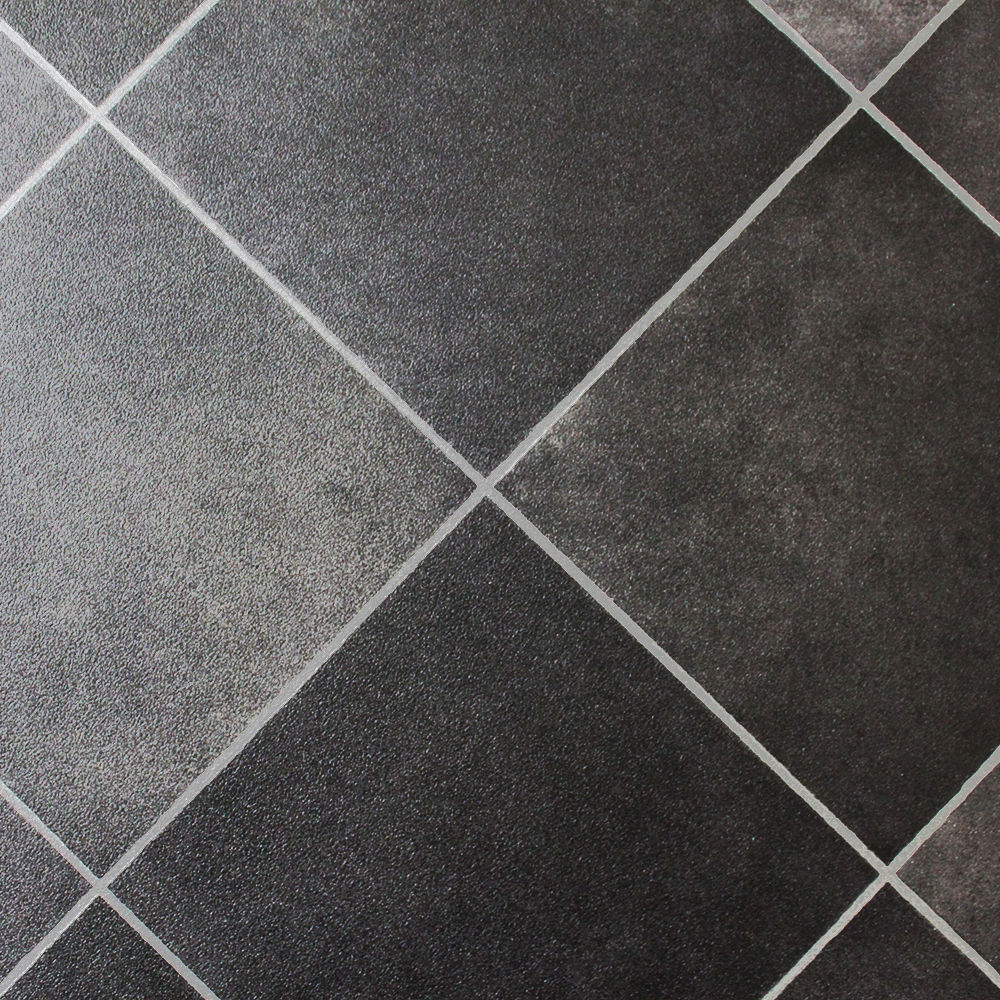 Grey Ceramic Wood Effect Floor Tiles