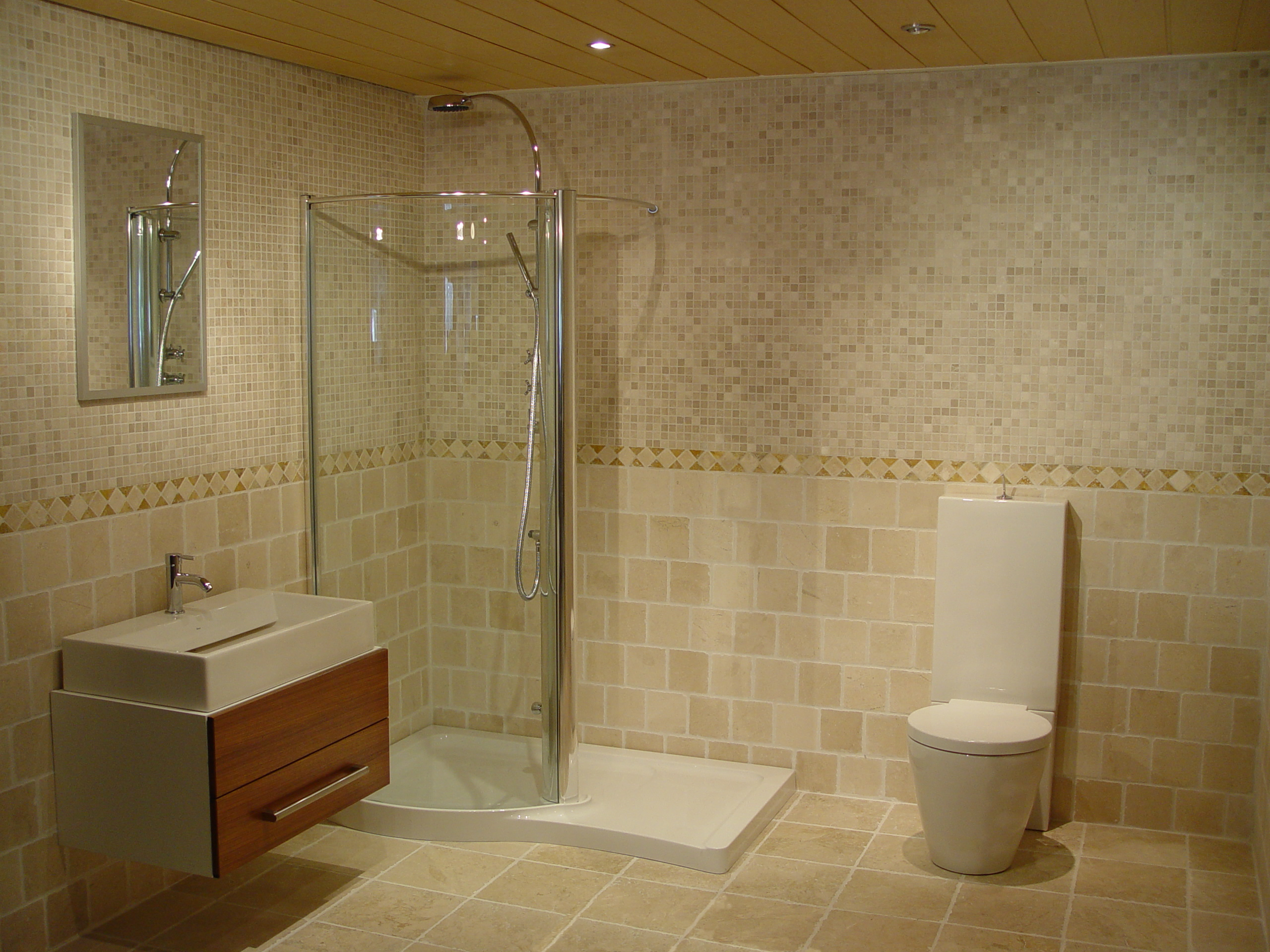 Awesome ... Stone Bathroom Design Ideas Natural Stone Bathroom Tiles