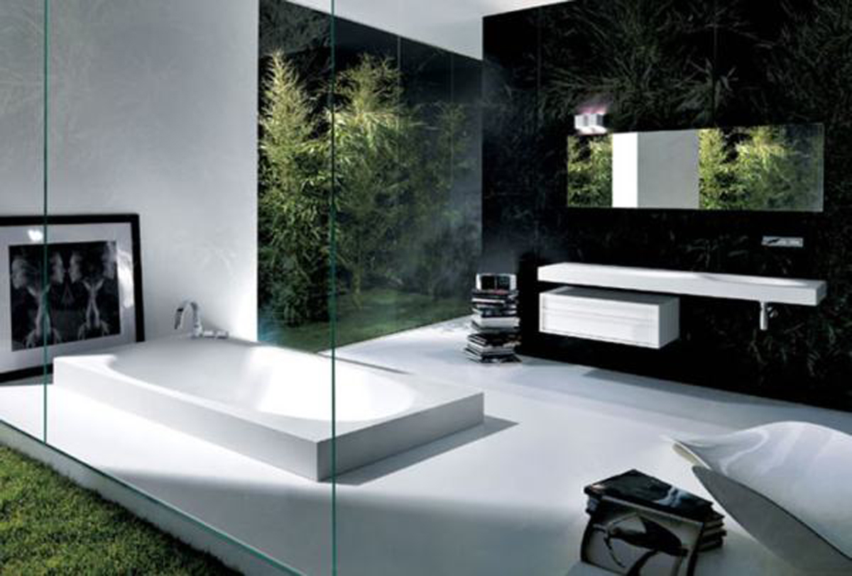 Modern bathroom decor accessories - Ultra Modern Bathroom Design