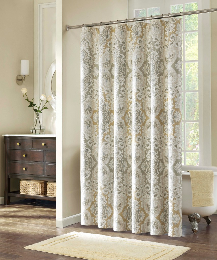 victorian-style-shower-curtains-by-echo-with-unique-pattern-a-bright-color-on-materials-to-create-cheerful-mood-853x1024