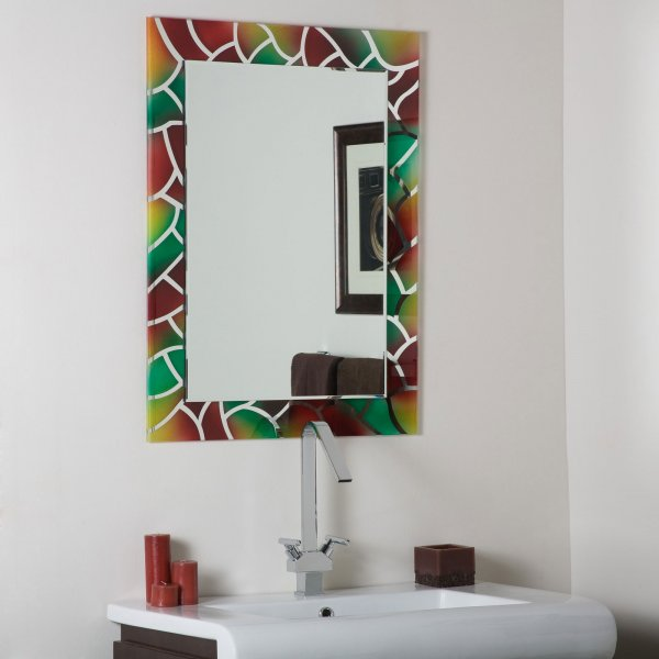 Original 30 Ideas Of Mosaic Tile Framed Bathroom Mirrors