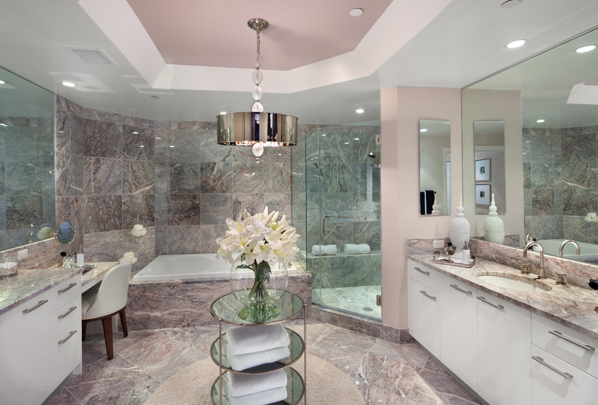 Roman bathroom designs - 30 Amazing Ideas And Pictures Of Bathroom Tile And Granite